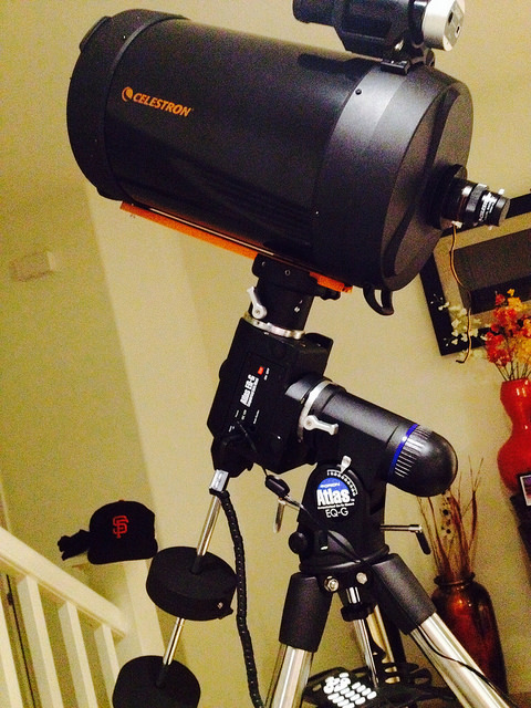 "Celestron 11""SCT with Orion Atlas EQ-G"