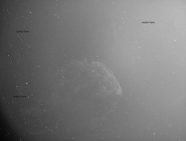 Water in sensor ASI-1600MM-Cooll