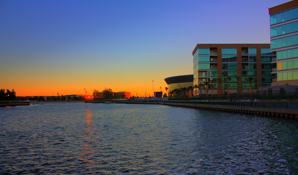 Stockton Arena in HDR