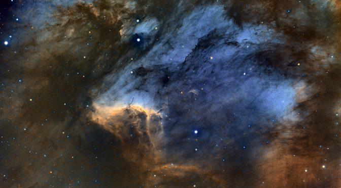 Capturing Pelican Nebula