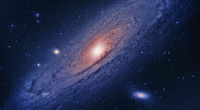 Reprocessed Andromeda Galaxy Data