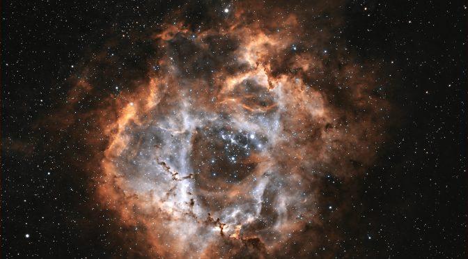 Processing the Rosette Nebula